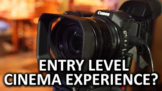 Canon XC10 Cinema Camera - NAB Show 2015