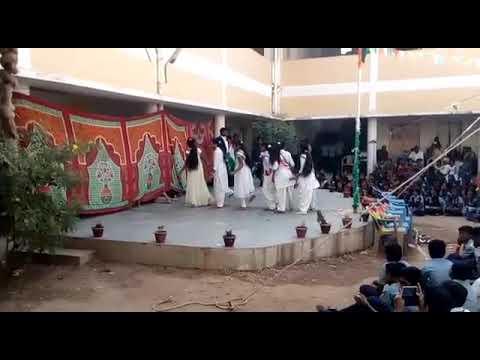 Republic Day Festival Dance Program Telangana Model School Kodimial