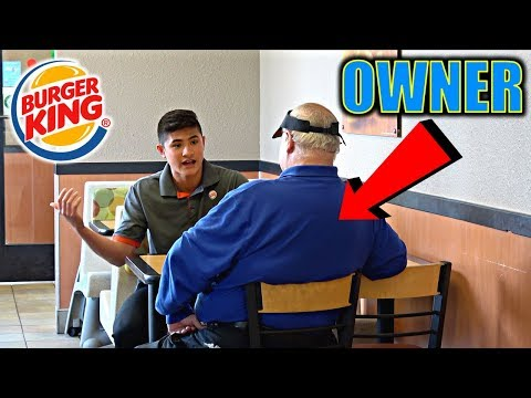 FAKE BURGER KING EMPLOYEE (INTERVIEWED)