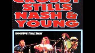 Crosby Stills Nash & Young - Only Love Can Break Your Heart 8-9-74