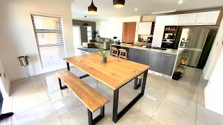 How To Build A Rustic Oak Dining Table