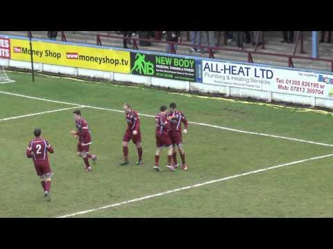 Weymouth 2 v 1 Bedworth United, 9th February 2013