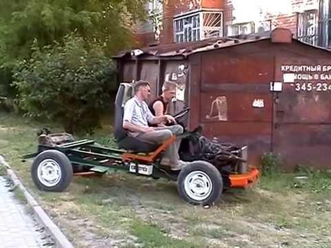 Трактор из Жигулей своими руками: самодельный, двигателем
