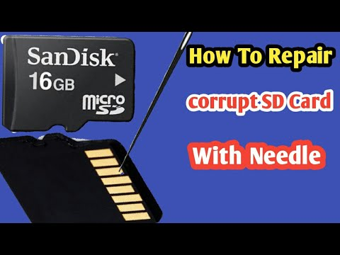 How To Repair Corrupt Sd Card|with Proof|Techno Help