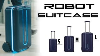 Robot Suitcase Travelmate - Behold The Future