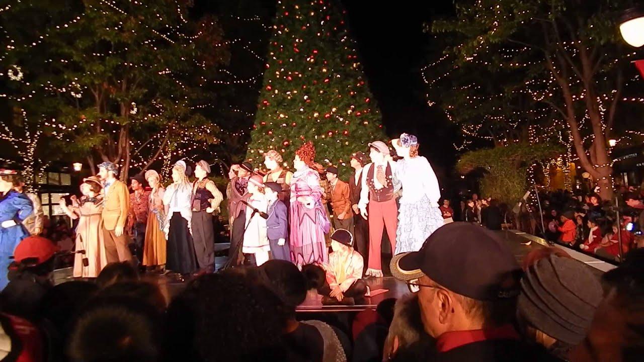 Christmas Tree Lighting Santana Row