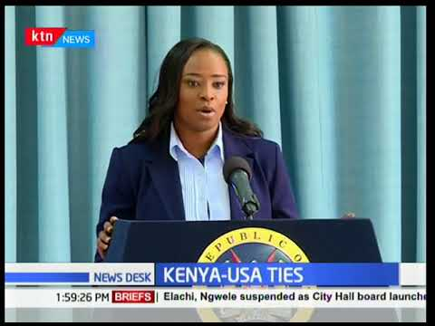 USA business experts visit Kenya for economic ties | KTN News Centre