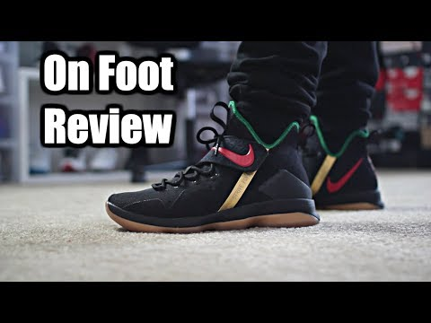 7869afb8ed5 Gucci Lebron 14 - On Foot Review in 4k - YouTube