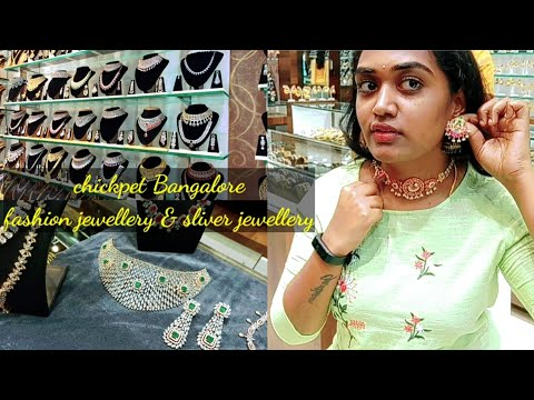 Chickpet Bangalore One Gram Gold Jewellery, Fashion Jewellery, Sliver Jewellery Collections