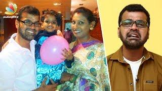 Thadi Balaji's wife files complaint against him in Police Station   Kalakka Povathu Yaaru Judge