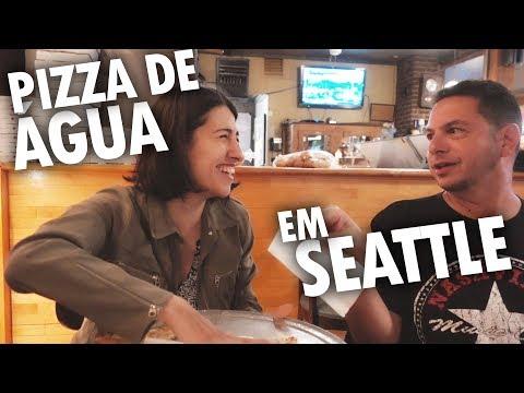 """FOMOS PARA SEATTLE E PROVAMOS UMA """"PIZZA DE ÁGUA"""" - Vlog Ep.76"""