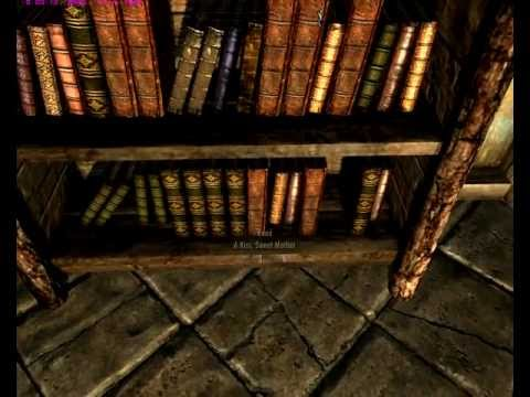 Skyrim bug - Bookshelf / Container inventory Loss