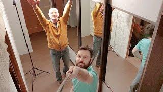 видео И снова ремонт!Натяжные потолки,дизайн шкаф-купе