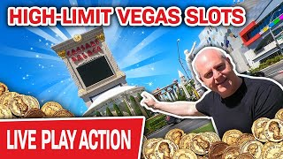 🔴 High-Limit LIVE Vegas Slots @ Caesars ⁉ How. Much. Money. Will. I. Spend?!??
