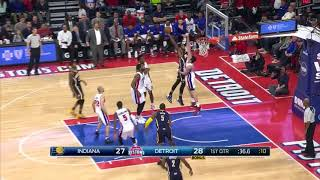 Quarter 3 One Box Video :Pistons Vs. Pacers, 12/12/2015 12:00:00 AM