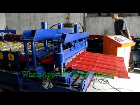 ZhiYe Glazed Tiles Making Machine