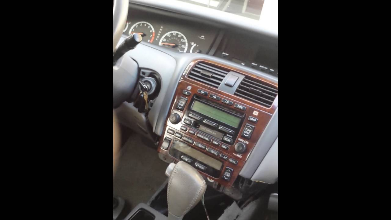 P1135 2001 Toyota 4runner Avalon Not Starting In P Position Youtube