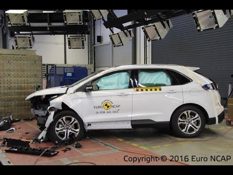 Ford Edge  Crash Test Euro Ncap