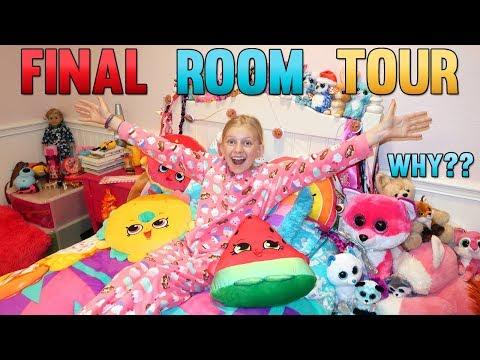 Alyssa&39;s VERY LAST Room Tour + Secret Hide & Seek Spot
