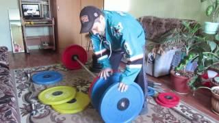 Штанга за 70000 рублей  Тренажерный зал дома