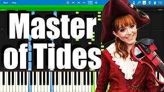 Lindsey Stirling - Master of Tides ( Piano Version ) | Synthesia Piano Tutorial