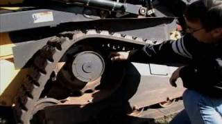 Skid-Steer Rubber Replacement Tracks, Solideal Tracks