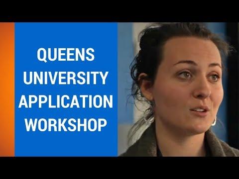 Queen's University Application Workshop