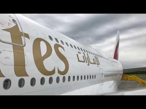 Aircraft Visit Emirates Airbus A380