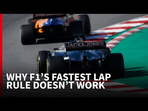 Why F1 has got its fastest lap bonus point rule wrong