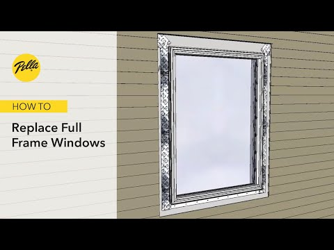 How to Replace Full Frame Window