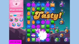 Candy Crush Saga Level 3883 NO BOOSTERS Cookie