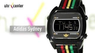 adidas adh2809 sydney herren digitaluhr rasta