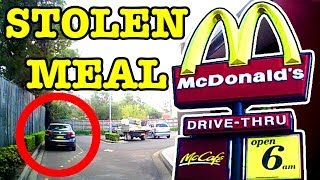 Repeat youtube video McDonalds Drive-Thru Nightmare Who Stole My Family's Meal Scam Caught On Camera