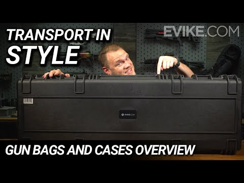 Transport In Style - Airsoft Gun Bags And Cases Overview