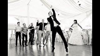 Случай на свадьбе! Вратарь и подвязка невесты :) Ведущий Одесса Иван Корчинский