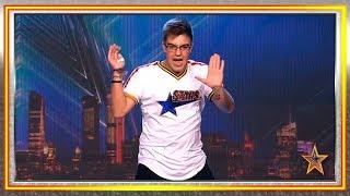 Es fan del programa y... ¡viene a bailar hasta cansarse! | Audiciones 5 | Got Talent España 2019