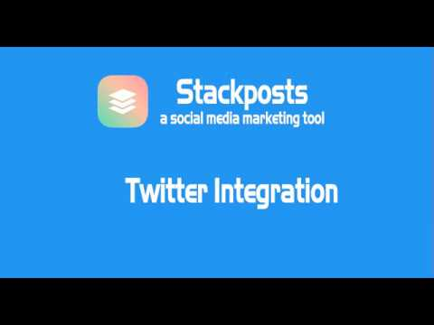 Stackpost – Twitter Integration