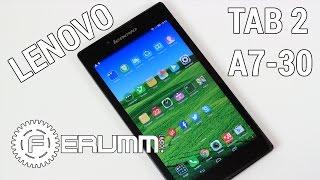 Lenovo Tab 2 A7-30 3G обзор. Главные особенности доступного планшета от FERUMM.COM