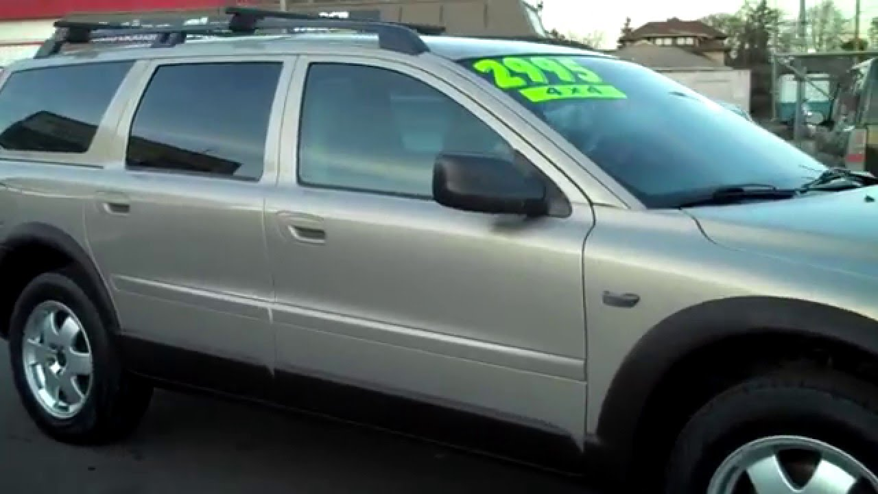 2001 Volvo V70 Xc Cross Country Awd Sold