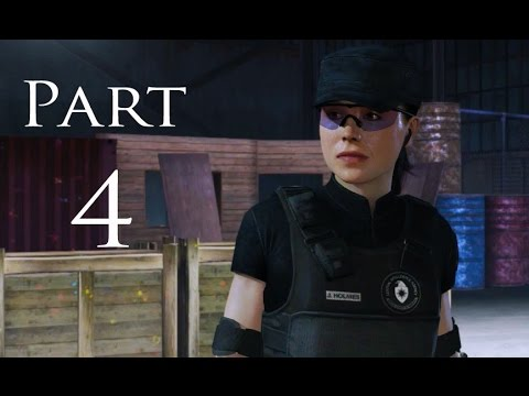 Beyond: Two Souls Remastered Gameplay Part 4 - Agent Holmes CIA (PS4)