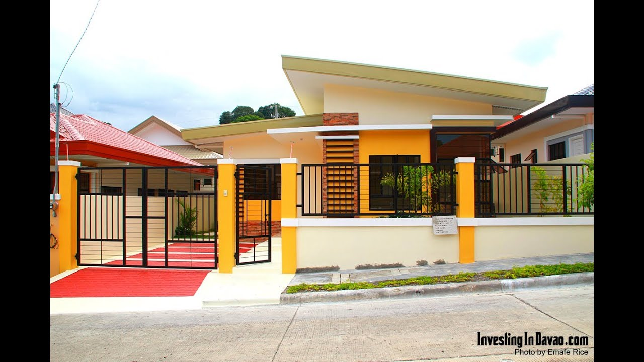 Middle to highend subdivision in matina investing in for Subdivision house plans