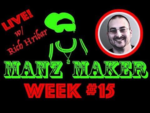 ManzMaker LIVE w/ LORD REEBS aka Rich Hribar