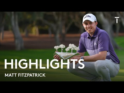 Matt Fitzpatrick final round highlights | 2021 Estrella Damm N.A. Andalucía Masters