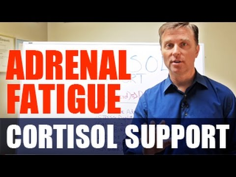 Dr. Berg's Cortisol Support Formula Ingredients - for Adrenal Fatigue