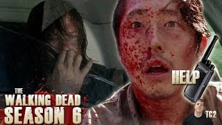The Walking Dead Season 6 Episode 6 - Was it Glenn on the Walkie Talkie?