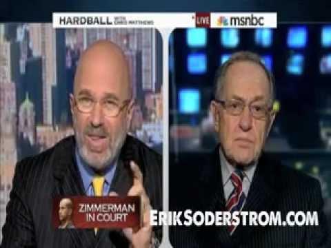 Zimmerman Trial: Alan Dershowitz Commenting MSNBC News About Angela Corey-Nifong