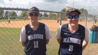 Paige Giese & Nicole Hoffmann talk WolfPack softball