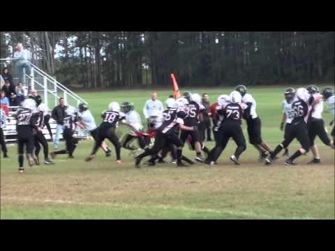 Football Highlights - 2013 North Branch Vikings 8th Grade
