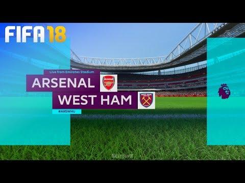 FIFA 18 - Arsenal vs. West Ham United @ Emirates Stadium
