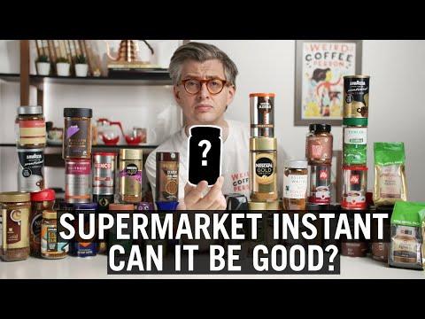 Supermarket Instant Coffee - Which One Tastes Best?